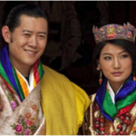 King and Queen of Bhutan